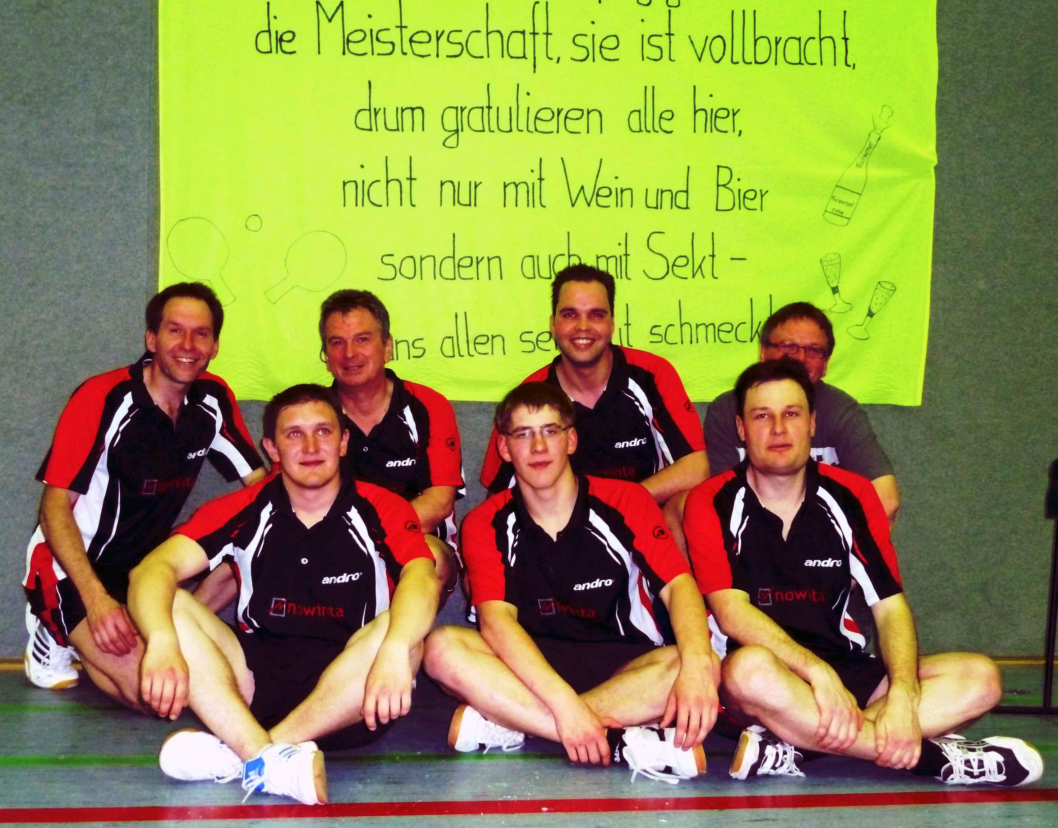 Herren 1 Aufstieg 2011
